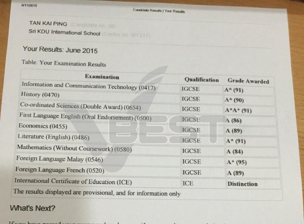 igcse Results-03