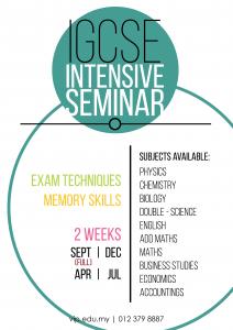 Intensive Seminar wg-01